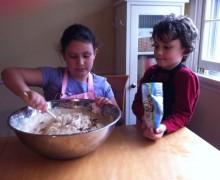 Ana & Aidan Baking